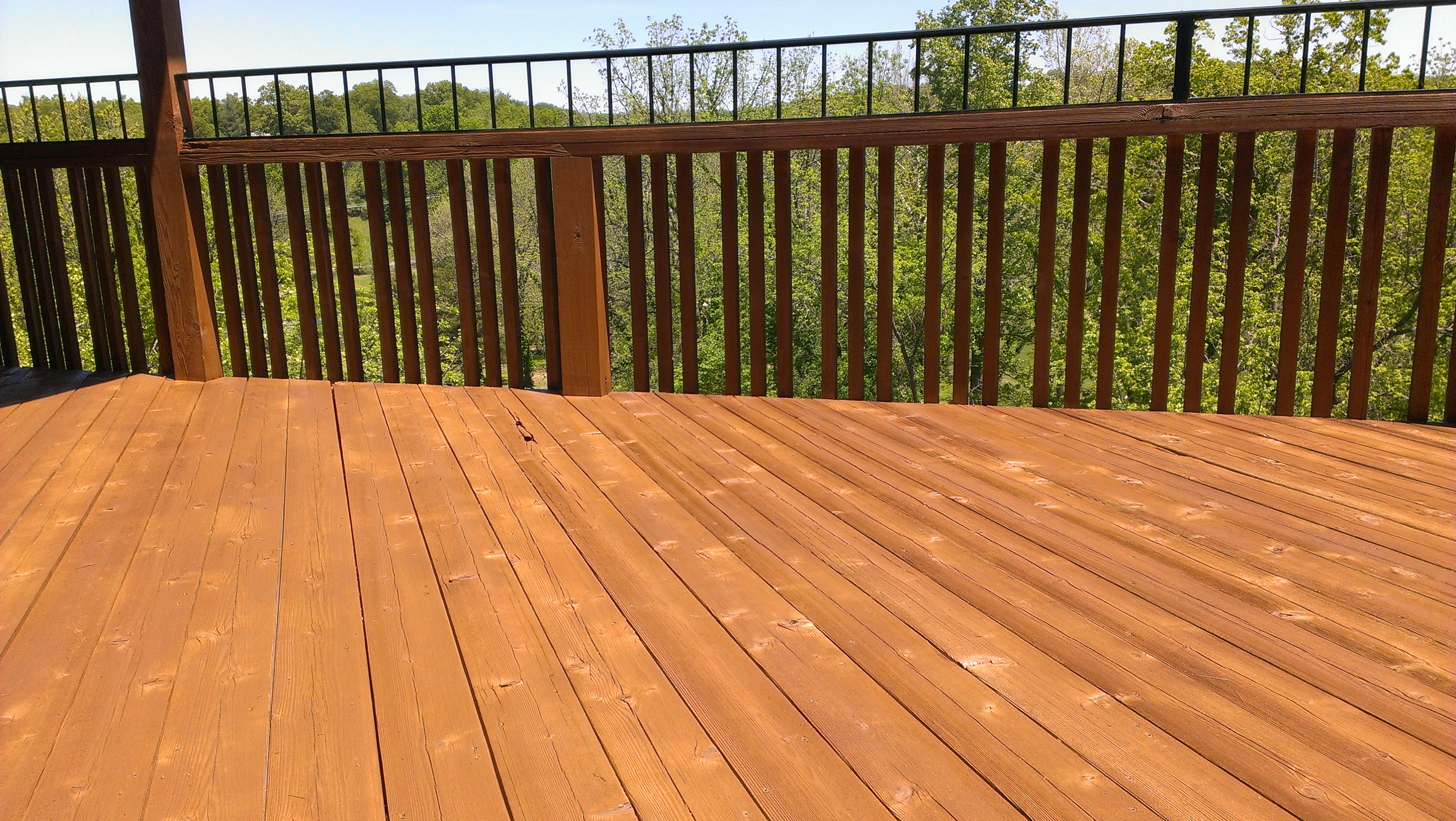 Color Choices Northwest Arkansas Fence Staining Deck