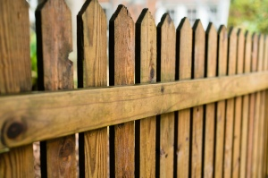 An old fence can look new with a fence cleaning from Central Illinois Renew Crew